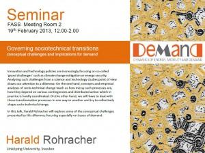 harold seminar