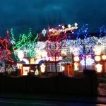 christmas lights in Sandy