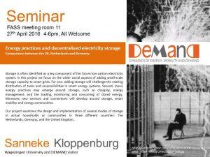 Kloppenburg poster