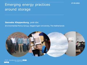 DEMAND Seminar Sanneke Kloppenburg