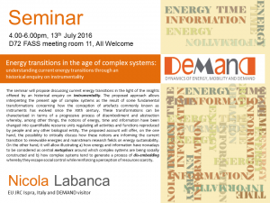 Labanca Seminar