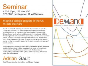 Adrian Gault seminar poster